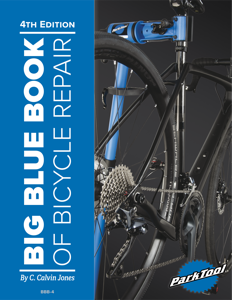 Big Blue Book of Bicycle Repair Copertina del libro