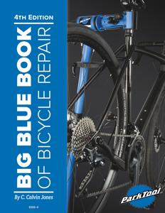 Big Blue Book of Bicycle Repair Couverture de livre