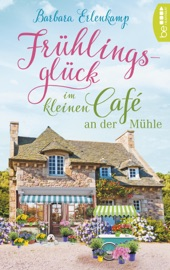 Frühlingsglück im kleinen Café an der Mühle