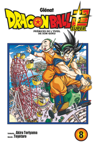 Dragon Ball Super - Tome 08 La couverture du livre martien
