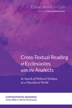 Cross-Textual Reading Of Ecclesiastes With The Analects