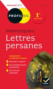 Profil - Montesquieu, Lettres persanes Libro Cover
