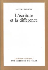 L'Ecriture et la Différence