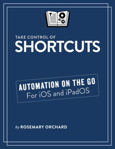 Take Control of Shortcuts Book Cover