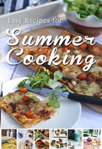 Easy Recipes for Summer Cooking Boekomslag