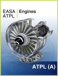 EASA ATPL Engines Copertina del libro
