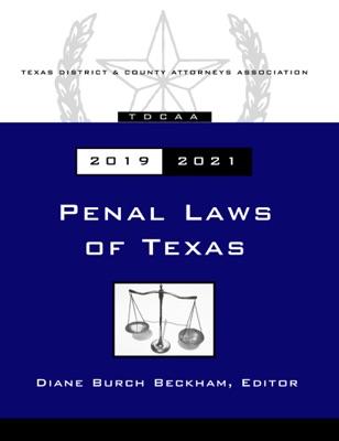 Texas Penal Code 2019-2021