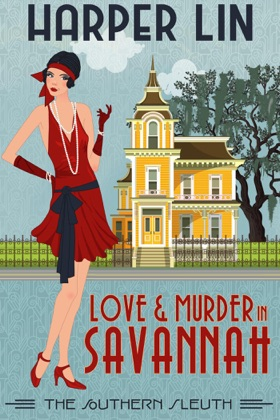Love and Murder in Savannah book cover