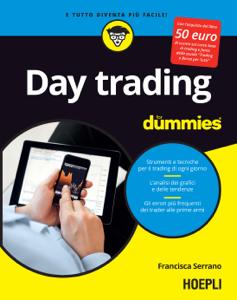 Day Trading for dummies Copertina del libro