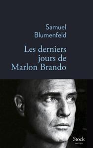 Les derniers jours de Marlon Brando La couverture du livre martien