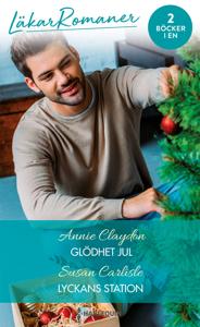 Glödhet jul / Lyckans station Cover Book