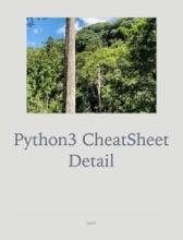 Python3 CheatSheet Detail