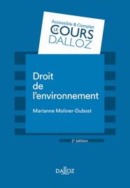 Droit de l'environnement - 2e éd.