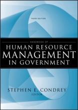 Handbook Of Human Resource Management In Government