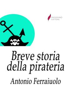 Breve storia della pirateria Copertina del libro