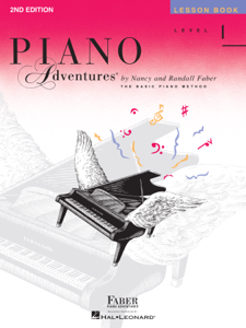 Piano Adventures  - Level 1 Lesson Book Book Cover