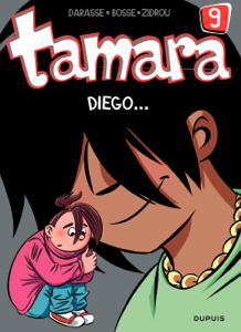 Tamara - tome 9 - Diego ... La couverture du livre martien