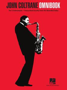 John Coltrane - Omnibook for C Instruments Copertina del libro
