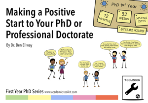 Making a Positive Start to your PhD or Professional Doctorate Copertina del libro