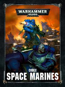 Codex: Space Marines La couverture du livre martien