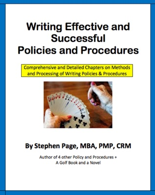 Writing Effective and Successful Policies and Procedures
