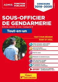 Concours Sous-officier de gendarmerie - Catégorie B - Tout-en-un