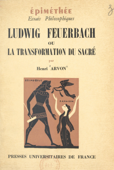 Ludwig Feuerbach Book Cover