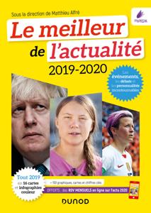 Le meilleur de l'actualité 2019-2020 Couverture de livre
