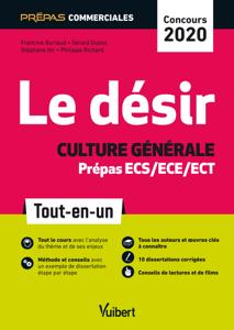 Le désir - Culture générale - Prépas commerciales ECS/ECE/ECT - Concours 2020 La couverture du livre martien