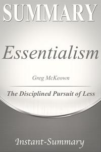 Essentialism Summary