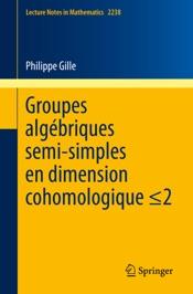 Download Groupes algébriques semi-simples en dimension cohomologique ≤2