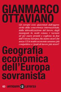 Geografia economica dell'Europa sovranista Copertina del libro