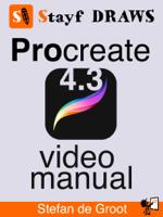 Stefan de Groot - Procreate 4 Video Manual artwork