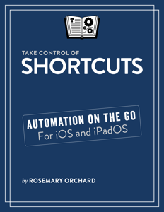 Take Control of Shortcuts Copertina del libro