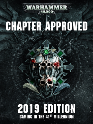 Games Workshop - Warhammer 40,000: Chapter Approved 2019 Enhanced Edition book