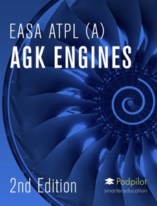 EASA ATPL AGK Engines 2020 Book Cover