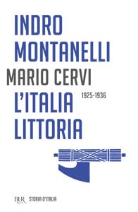 L'Italia littoria - 1925-1936 Copertina del libro