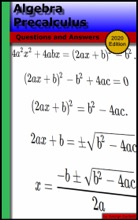 Algebra Precalculus: Questions And Answers (2020 Edition)