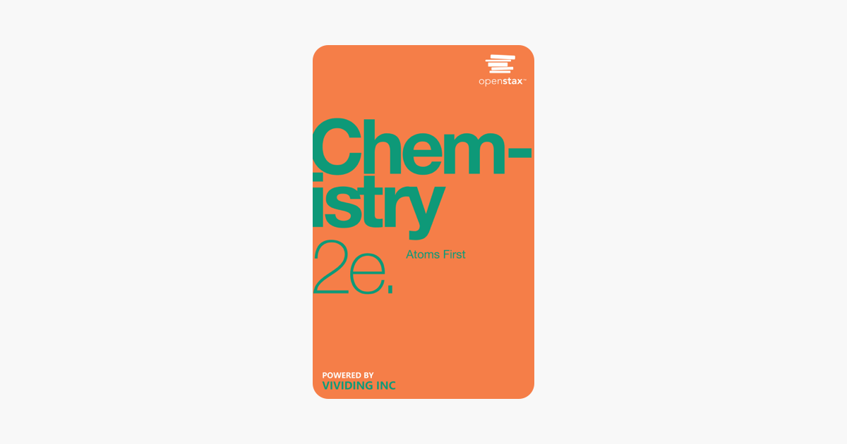 Chemistry: Atoms First 2e - OpenStax