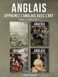 Pack 4 Livres En 1 - Anglais - Apprenez l'Anglais avec l'Art