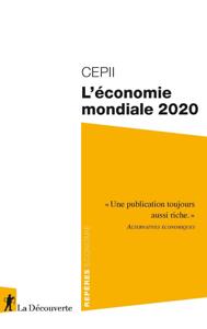 L'économie mondiale 2020 La couverture du livre martien