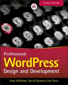 Professional WordPress Book Cover