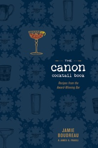 The Canon Cocktail Book Book Cover
