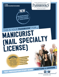 Manicurist (Nail Specialty License) book