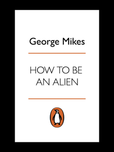 How to be an Alien Copertina del libro
