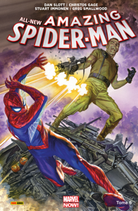 All-New Amazing Spider-Man T06 La couverture du livre martien