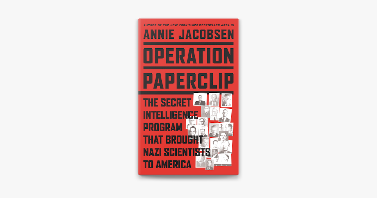 Operation Paperclip on Apple Books