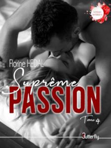 Suprême Passion #4 La couverture du livre martien