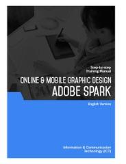 Online & Mobile Graphic Design (Adobe Spark)