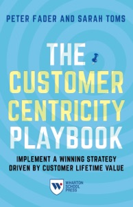 The Customer Centricity Playbook Book Cover